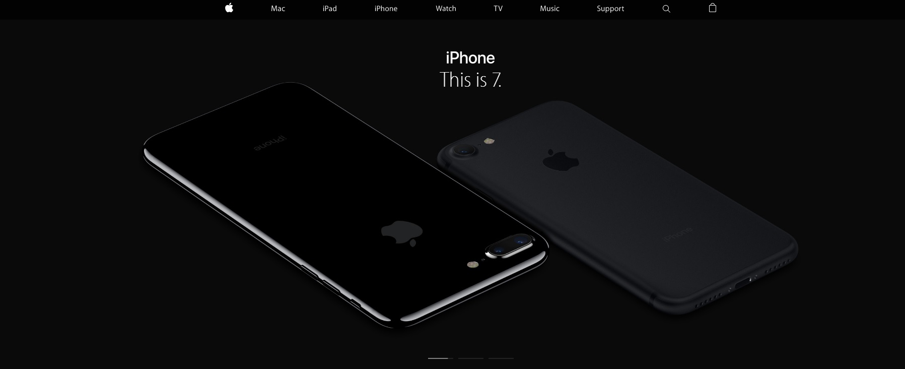Apple.com Screenshot iPhone 7
