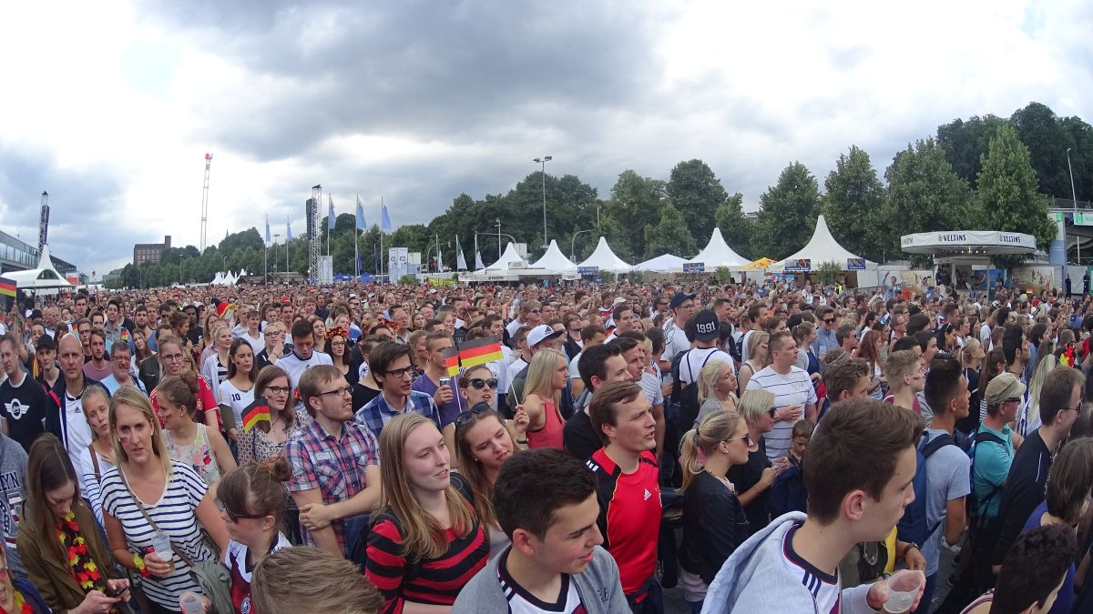 Public Viewing EM 2016 Achtelfinale Deutschland - Slowakei