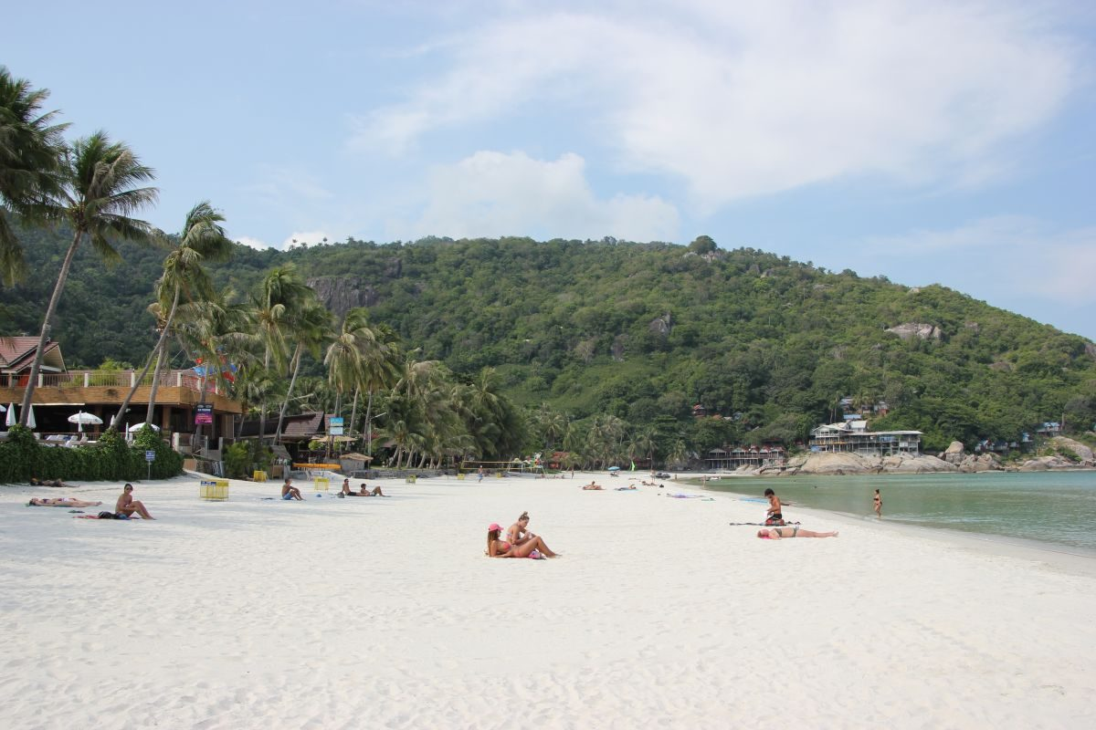 Haad Rin Beach Koh Phangan in Thailand
