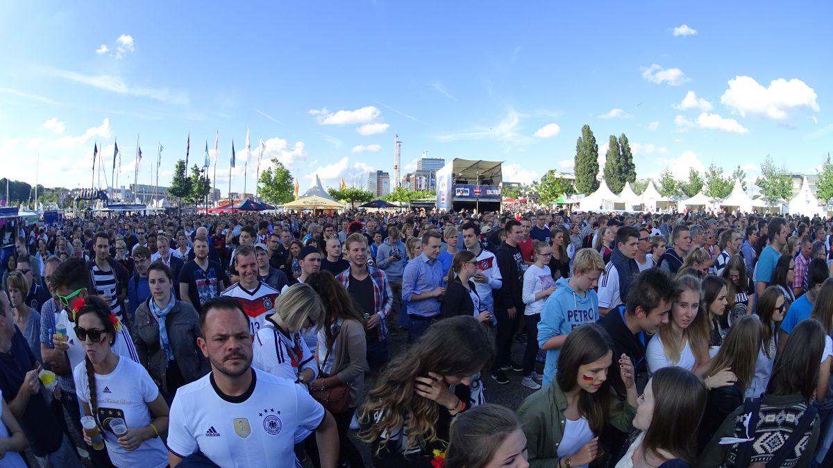 Public Viewing EM 2016 in Kiel