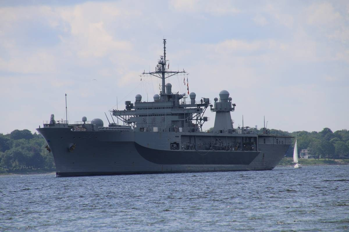 USS Mount Whitney (LCC-20) in Kiel - BALTOPS 2019